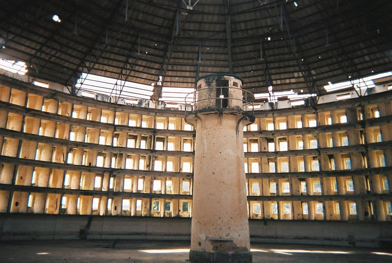 단일 식별자는 디지털 원형감옥(판옵티콘)을 초래할 수도 있다. (위키백과 공용, CC BY-SA 3.0)