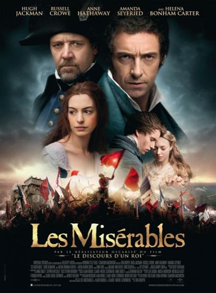 레미제라블 (2012) 포스터