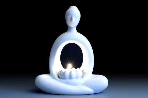 """airguy1988, """"Zen Monk Candle"""", (CC BY ND)"""