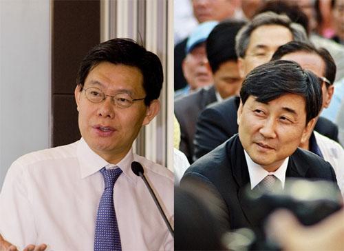최재천 의원 (좌), 이종걸 의원 (우)