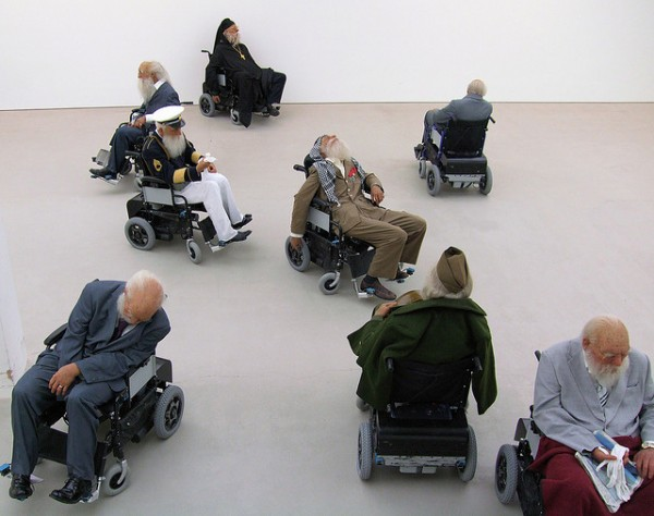 Old Person's Home, Saatchi Gallery, London. (CC BY 2.0)