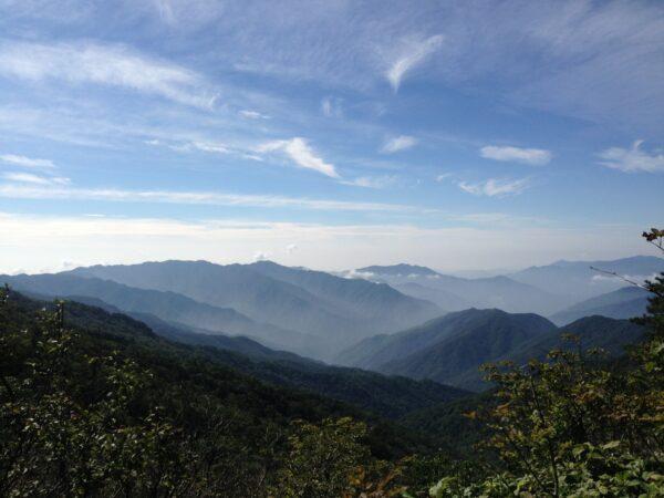 끝없이 펼쳐진 지리산 산자락2013년 08월 31일