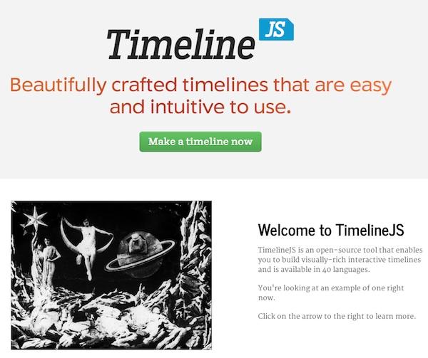 timeline JS