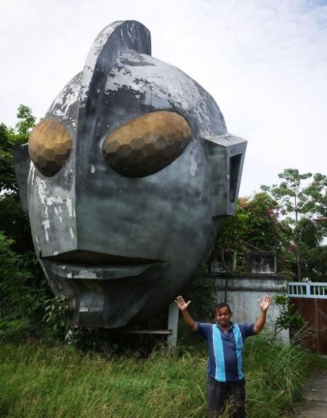 태국 법원의 판결로 인해 문 닫은 태국의 울트라맨 박물관