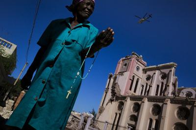 제임스 낙트웨이 (아이티, 2010)