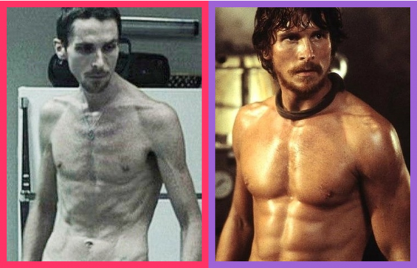"이 정도까진 아니어도...""Christian Bale - Before/After Gym"", befter"