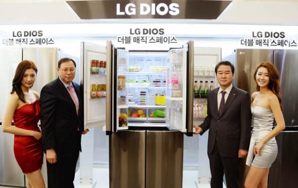 LG 디오스 냉장고 신제품 보도사진