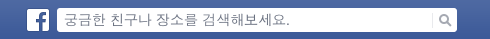 페이스북 검색의 기본 입력 문구