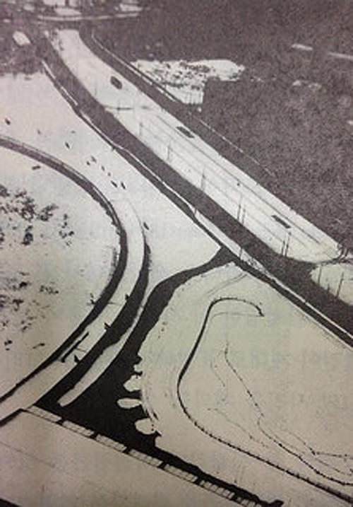 라즐로 모홀리 나기, [라디오 송신탑에서 본 풍경], 1928년