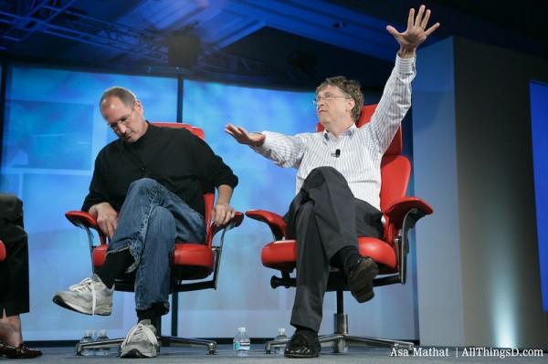 스티브 잡스와 빌 게이츠 (D5)