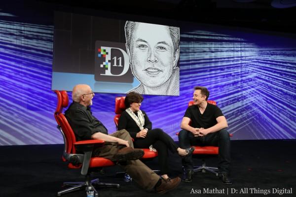 D11에서 엘론 머스크(테슬라 CEO)와의 대화