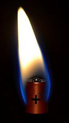 건전지 촛불