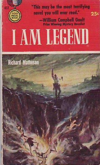 [나는 전설이다](1954) 초판본 표지