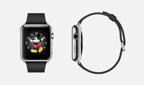 개인적으로 가장 마음에 드는 미키마우스 애플 워치 | 출처: 애플