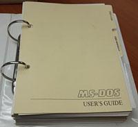 MS-DOS 3.21 유저매뉴얼