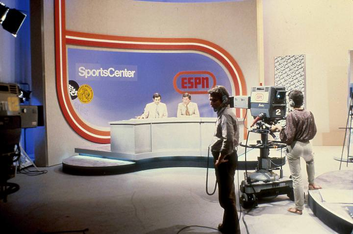 ESPN 방송 장면