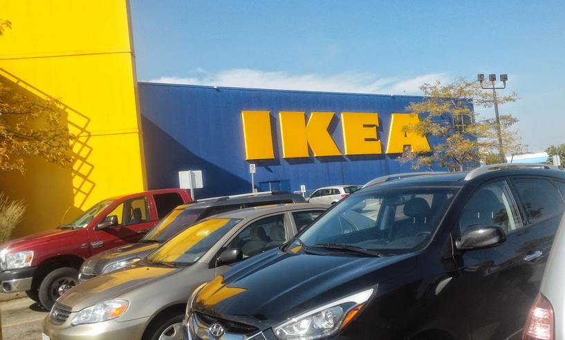 캐나다 토론토 근처의 IKEA Etobicoke점