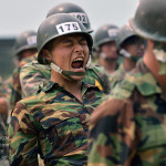 이등병 군대 훈련병