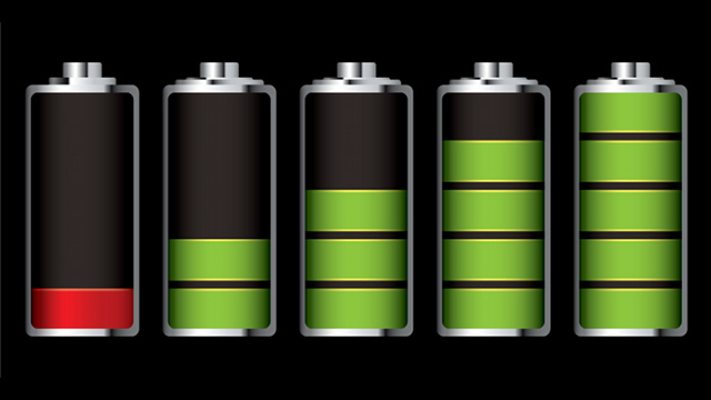 배터리 사용량
