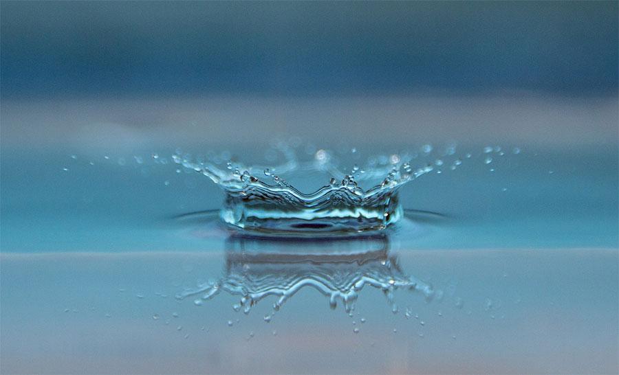 떨어진 물방울
