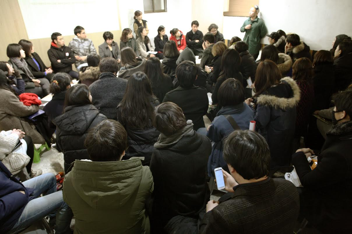 창작자의 밥벌이와 작업에 관한 고민을 공유한 좌담회, '접속유지' (사진 제공: 정언)
