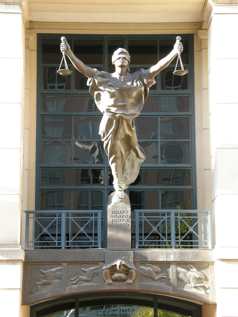 """Dan4th Nicholas, """"Justice sends mixed messages"""", CC BY  https://flic.kr/p/8PEYEW"""