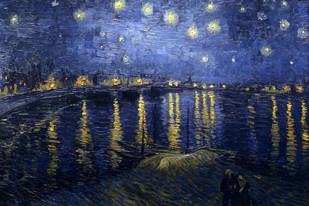 """빈센트 반 고흐, """"Starry_Night_Over_the_Rhone http://en.wikipedia.org/wiki/Starry_Night_Over_the_Rhone http://en.wikipedia.org/wiki/Vincent_van_Gogh"""