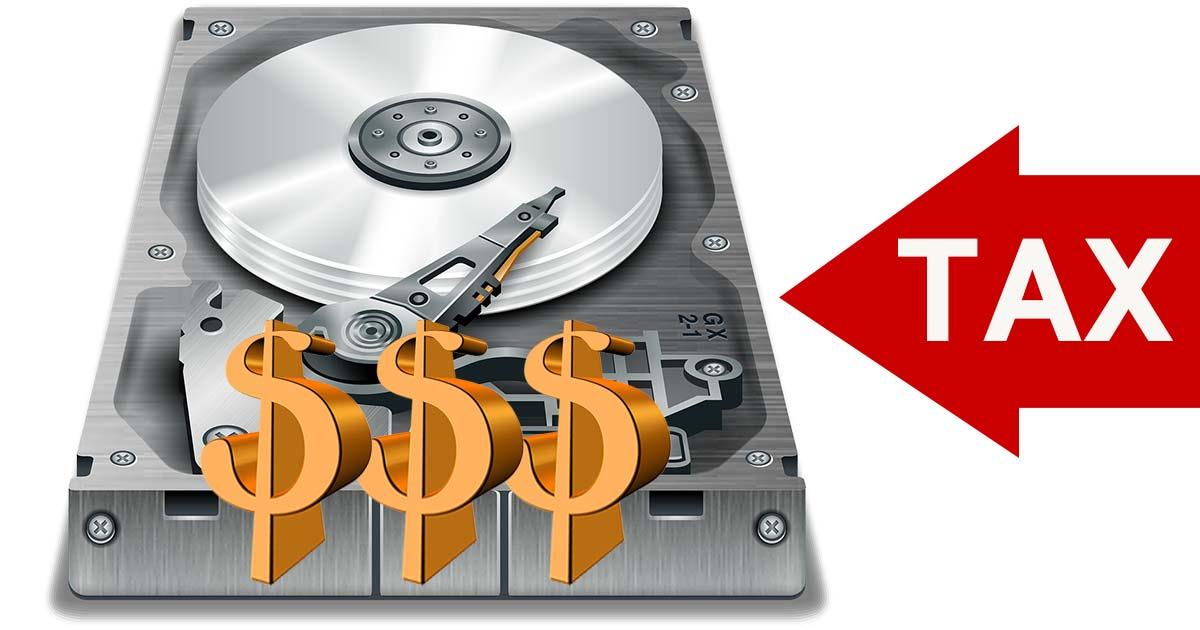 하드 디스크에 담긴 소프트웨어가 관세 대상?