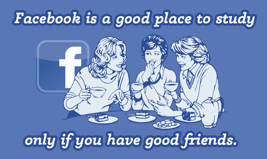 페이스북은 공부하기 좋은 곳이다. 좋은 친구가 있다면.
