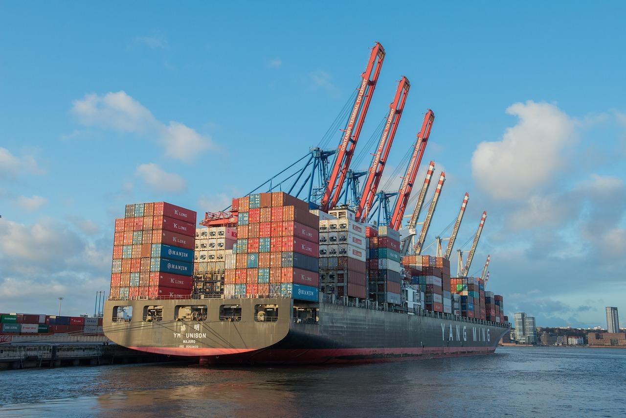 무역 수출 수입 배 항구