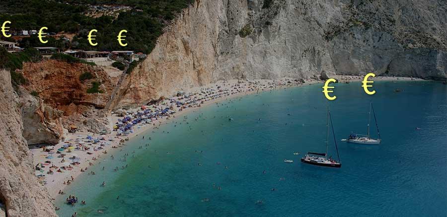 그리스의 선박과 숙박 시설 가격에 매기는 세금