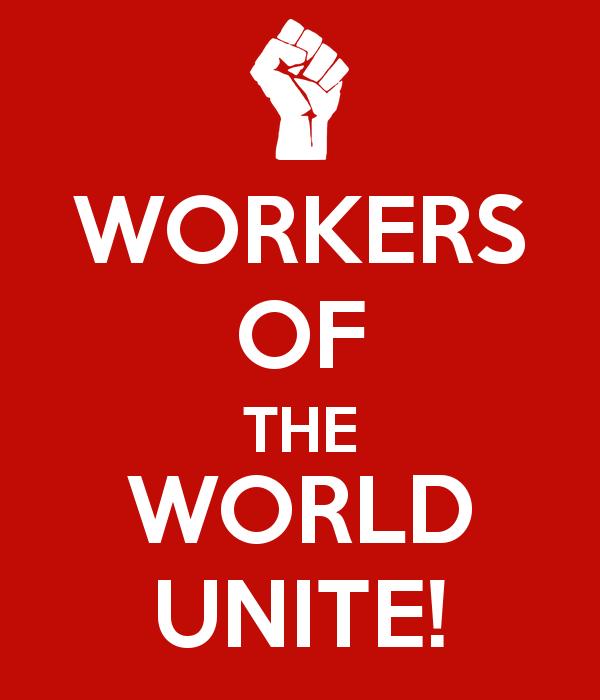 만국의 노동자여, 단결하라! 포스터