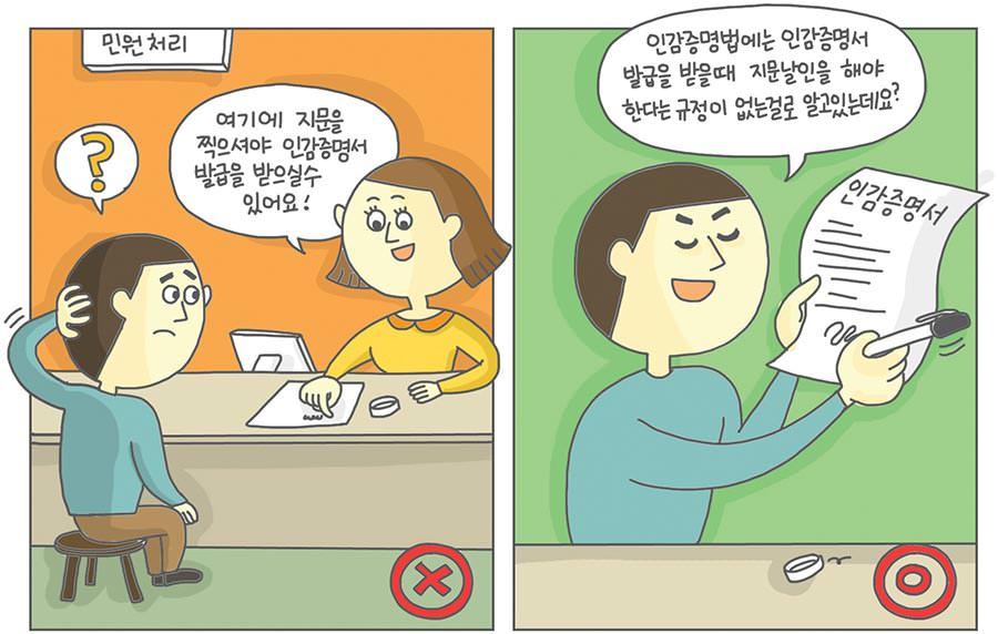 정보인권가이드 - 지문날인
