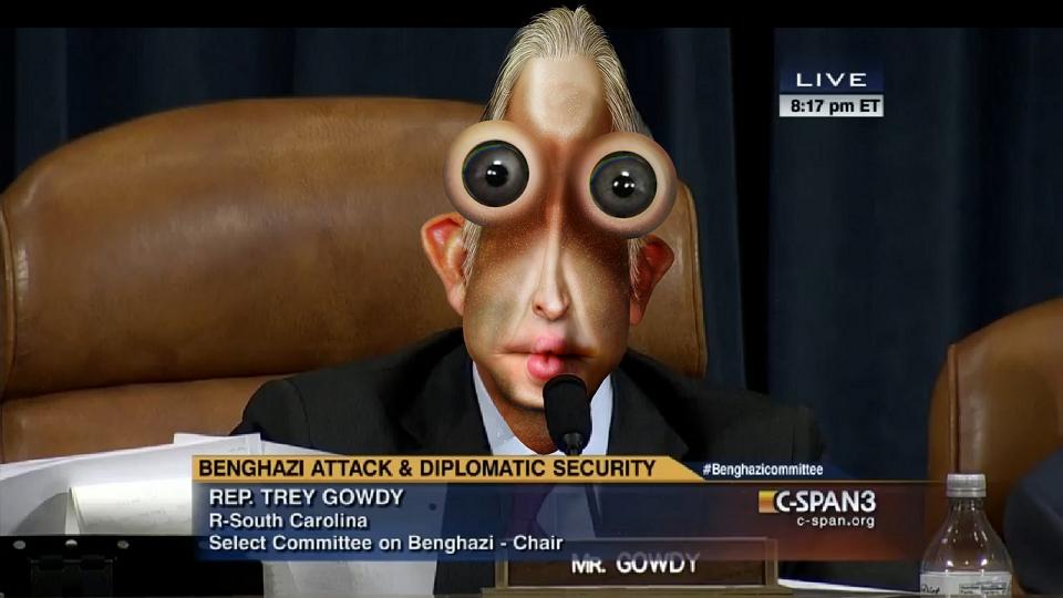 """DonkeyHotey, """"Chairman Trey Gowdy - Cold Fish"""", CC BY SA https://flic.kr/p/zQQ72u"""