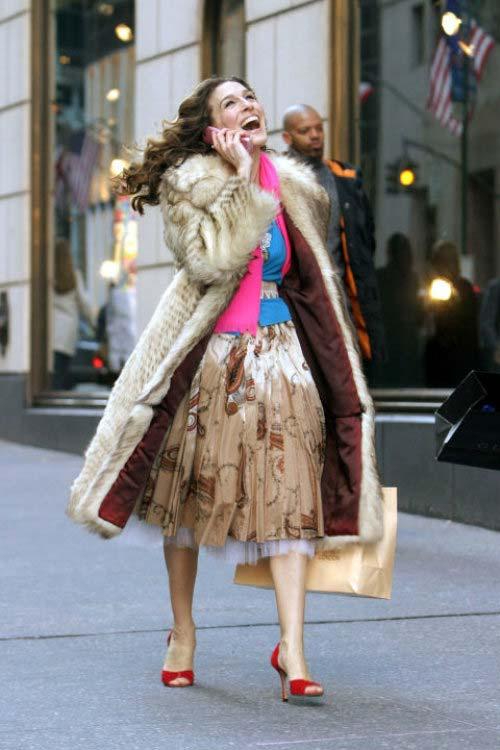 """캐리 브래드쇼, """"쇼핑은 내 심장을 뛰게 하는 힘"""" (출처: 섹스 앤 더 시티, ©HBO)"""