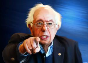 DonkeyHotey, Bernie Sanders - Painting, CC BY https://flic.kr/p/vGQjz2