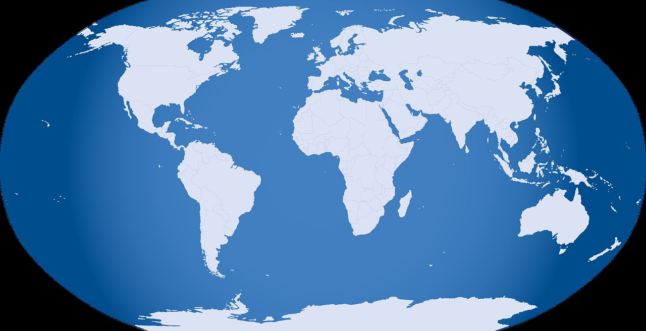 지도 지구 글로벌