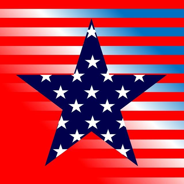 스타 미국 별