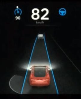 테슬라 모델 S 오토스티어 테스트 #1