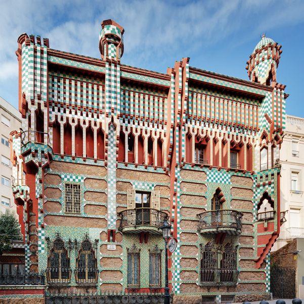 카사 비센스(1888년 완공, 바르셀로나)