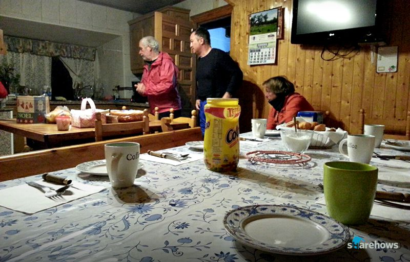 알베르게 중에선 순례자들을 위해 간단한 조식을 마련해주는 곳도 있다.