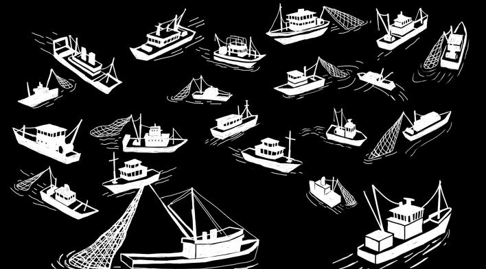 수많은 배들