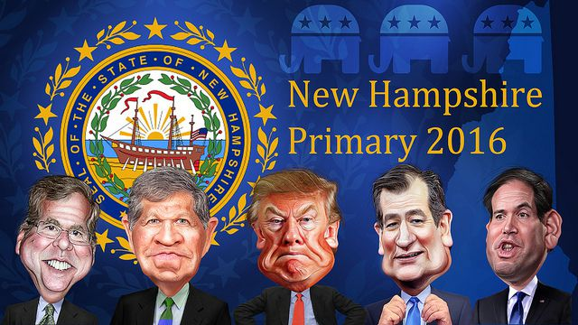 DonkeyHotey, New Hampshire Primary Republicans 2016, CC BY SA https://flic.kr/p/DknGvs