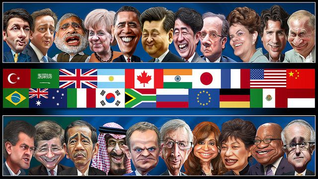 DonkeyHotey, The G20 Leaders - Caricatures, CC BY SA_compressed https://flic.kr/p/AvnuXt
