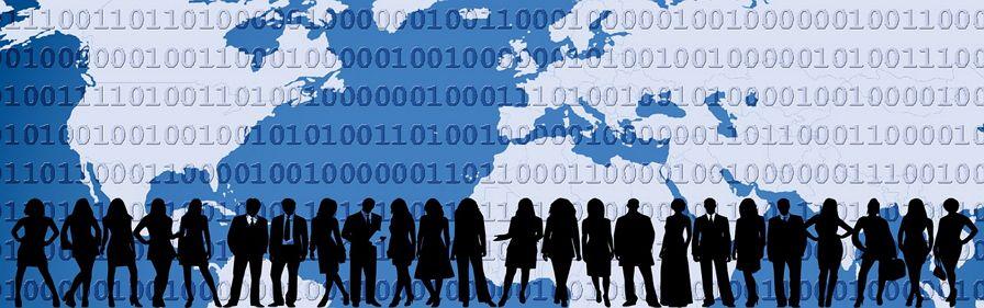 글로벌 세계화 전세계 디지털