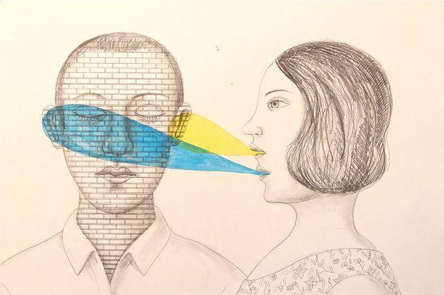 "Rick&Brenda Beerhorst, ""you are not listening"", CC BY https://flic.kr/p/axXBSs"