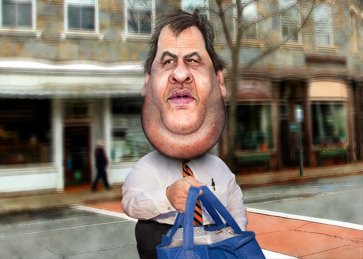 DonkeyHotey, Chris Christie - Caricature, CC BY https://flic.kr/p/qb5h4H