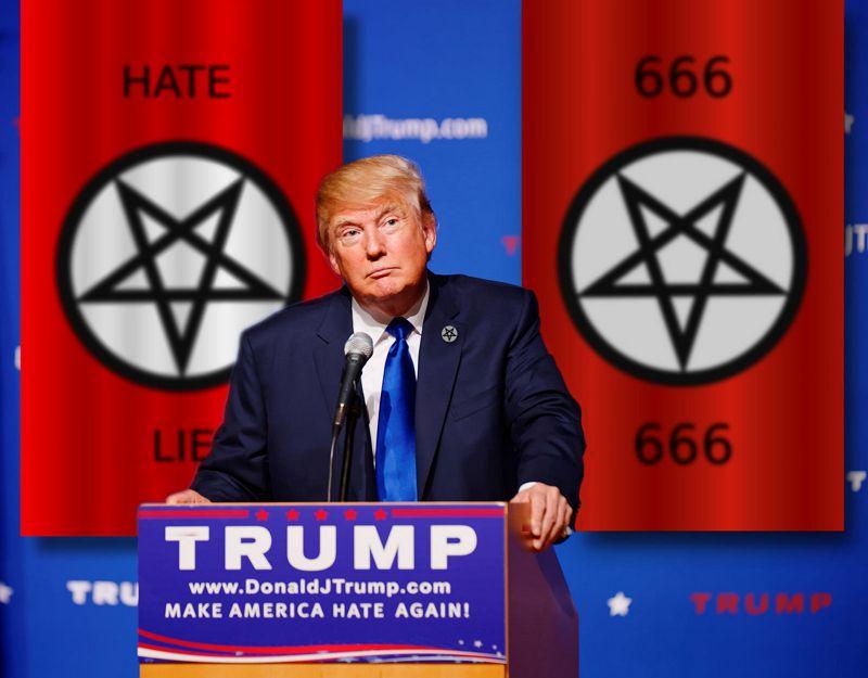 트럼프 막말과 품성(?)을 패러디한 이미지 (출처: Moanaipo)