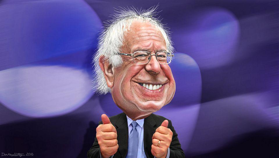 DonkeyHotey, Bernie Sanders - Caricature, CC BY https://flic.kr/p/DuLAPo