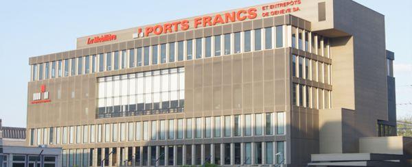 제네바 자유무역항, 여기가 미술관이라면 세계 최대의 작품 소장처라고 한다. (출처: Geneva-freeports.ch, 재인용 출처: news.atrnet.com https://news.artnet.com/market/switzerland-freeport-regulations-367361 )